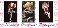 Arlene Original Cloth Doll Designs