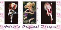 Arlene Original Cloth Doll Designs