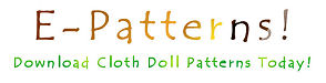 Kezi Matthews Cloth Doll Patterns