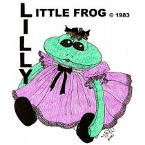 LITTLE FROG Free Soft Cloth Doll Pattern to Download