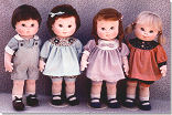 Dear Ones - Cloth Doll Patterns