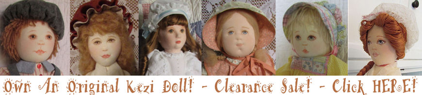 Kezi Original Doll Sale