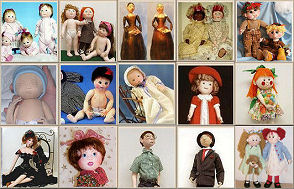 Judi Ward - Cloth Dolls, Classes, Patterns Click HERE!